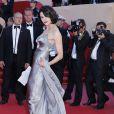 Asia Argento sur les marches - Clôture du 66e Festival du film de Cannes, le 26 mai 2013.