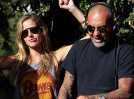 Christian Audigier passe derrière les platines avec sa jolie fiancée Nathalie