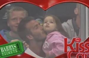 David Beckham et sa craquante Harper : Un duo attendrissant sur grand écran