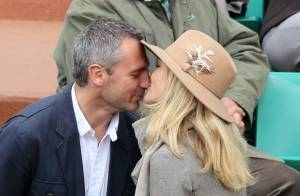 Roland-Garros : Yann Delaigue et Astrid Bard, duo amoureux devant Stéphane Plaza