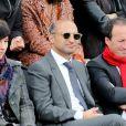 Thomas Fabius lors du quatrième jour des Internationaux de France à Roland-Garros le 29 mai 2013