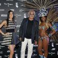 Elisabetta Gregoraci et Flavio Briatore lors de la Brazilian Night du Billionaire, club de Flavio Briatore, situé au Fairmont Hotel de Monte Carlo le 25 mai 2013