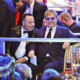 David Furnish et Elton John au Life Ball, à Vienne le 25 mai 2013