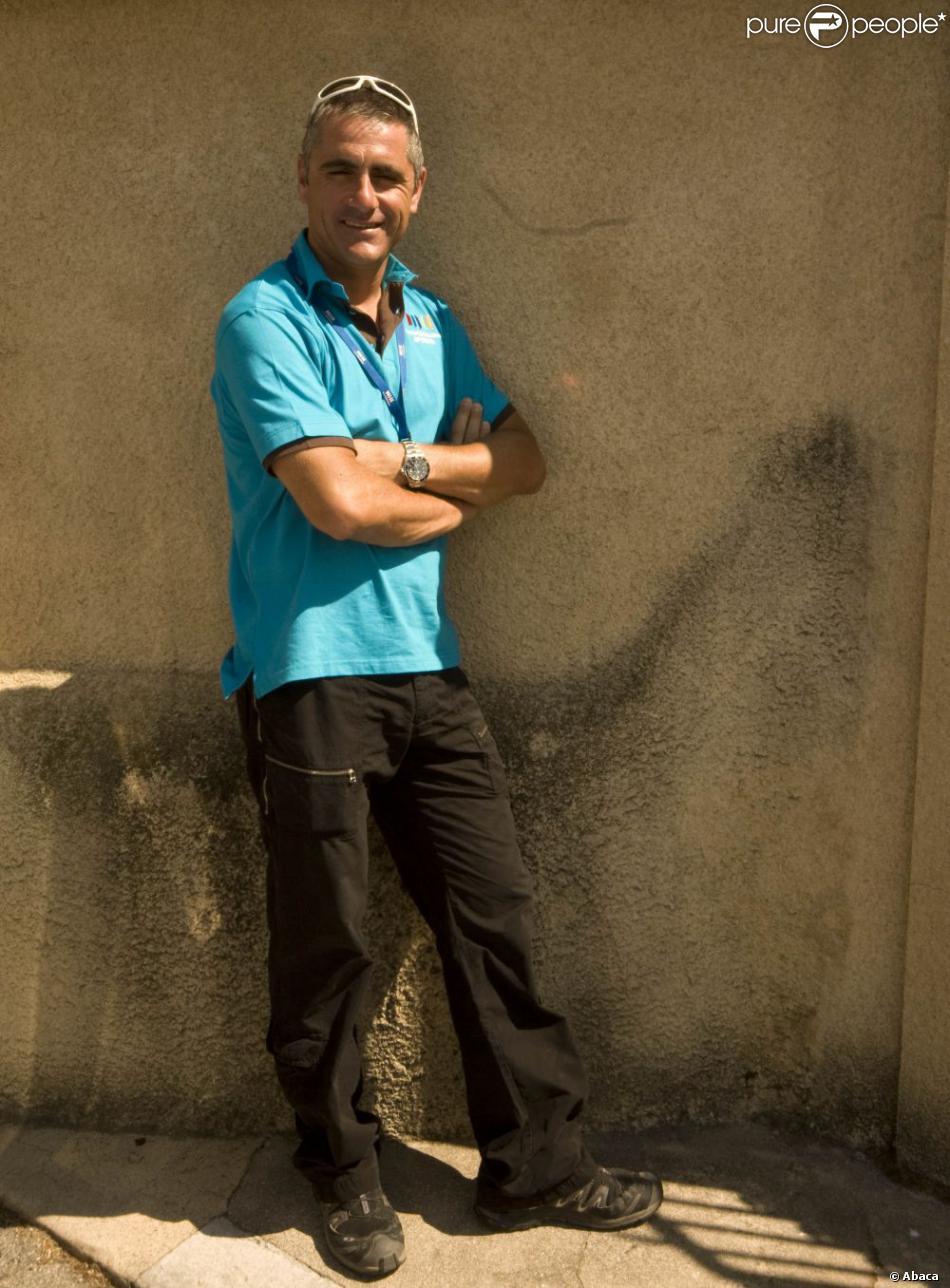 Laurent Jalabert durant la douzième étape du Tour de France entre Tonerre et Vittel, le 16 juillet 2009
