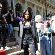 Nicole Scherzinger à Londres pour de nouvelles auditions de X Factor. Le 4 juin 2013.