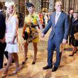 Zara Phillips et son mari Mike Tindall lors de la cérémonie pour les 60 ans du couronnement de la reine Elizabeth II, le 4 juin 2013 en l'abbaye de Westminster. Le rugbyman a eu bien du mal à rester éveillé...