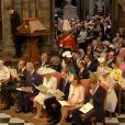 Extrait de la cérémonie organisée en l'abbaye de Westminster le 4 juin 2013 pour les 60 ans du couronnement de la reine Elizabeth II.
