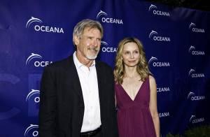 PHOTOS :  Harrison Ford et sa chérie Calista Flockhart entourés d'un parterre de stars !