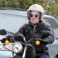 Exclusif - Pink et Carey Hart en sortie moto à Malibu, le 6 juin 2013.