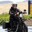 Exclusif - Pink et Carey Hart font de la moto à Malibu, le 6 juin 2013.