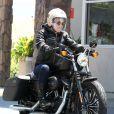 Exclusif - Pink en sortie moto avec son mari Carey Hart à Malibu, le 6 juin 2013.