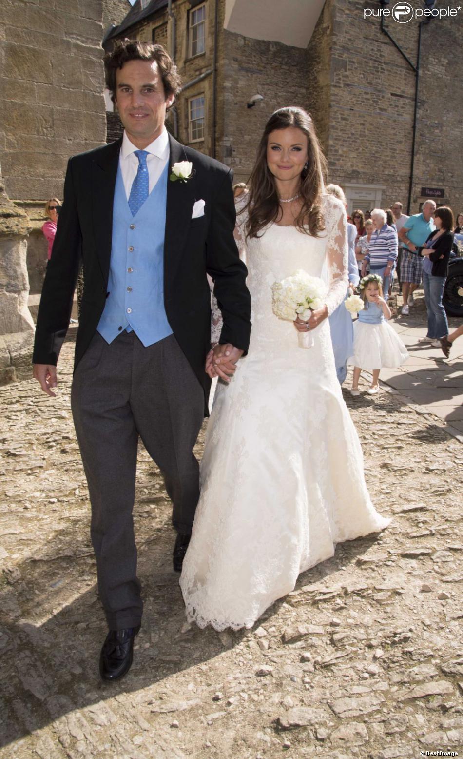 Mariage de Lady Natasha Rufus Isaacs, amie de William et cofondatrice de  Beulah, et