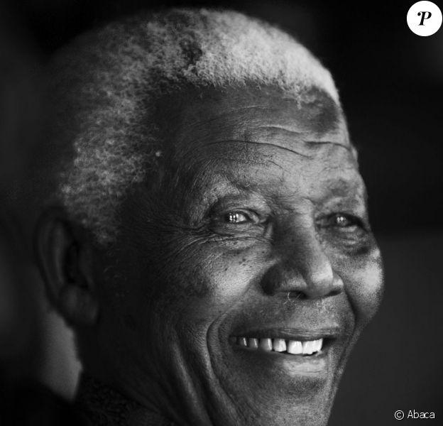 Nelson Mandela à Johannesburg le 10 juillet 2009.