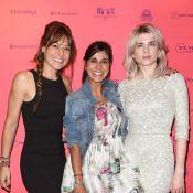 Cécile Cassel ultraglamour avec la jolie Reem Kherici pour Paris à tout prix