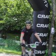 """Le prince Frederik de Danemark participait le 15 juin 2013 à """" The Specialized Nordic 24 """", une course de vélo éprouvante, au nord de Copenhague."""