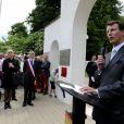 Le prince Joachim de Danemark inaugurait le 15 juin 2013 en Picardie le cimetière danois de Braine, après travaux de rénovation.