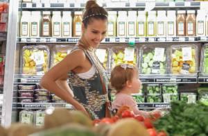 Jessica Alba : Week-end festif pour la maman exemplaire