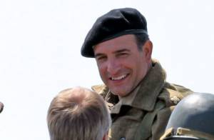 Jean Dujardin dans The Monuments Men de George Clooney : Images du tournage