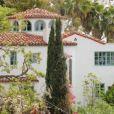Vue de la villa de Gerard Butler à Los Feliz, Los Angeles.