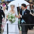 Mariage de Thomas van Straubenzee et de Lady Melissa, fille du duc de Northumberland à Alnwick en Angleterre le 22 juin 2013