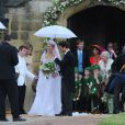 Mariage de Thomas van Straubenzee et de Lady Melissa, fille du duc de Northumberland, à Alnwick en Angleterre le 22 juin 2013