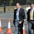 Le prince William lors du mariage de Lady Melissa, fille du duc de Northumberland, et deThomas van Straubenzee à Alnwick en Angleterre le 22 juin 2013