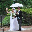 Lady Melissa Percy et Thomas Van Straubenzee lors de leur mariage à Alnwick en Angleterre le 22 juin 2013