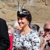 Pippa Middleton de mariage : Sans sa soeur Kate, enceinte, mais avec William