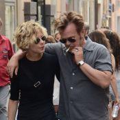Meg Ryan avec son amoureux en vacances : Elle s'offre une danse en pleine rue