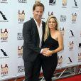 Nat Faxon et sa compagne à la première du film The Way, Way Back en clôture du Los Angeles Film Festival, le 23 Juin 2013.