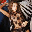 Le mannequin Petra Nemcova pose pour la marque australienne de lingerie Wild Orchid, le 23 Juin 2013.