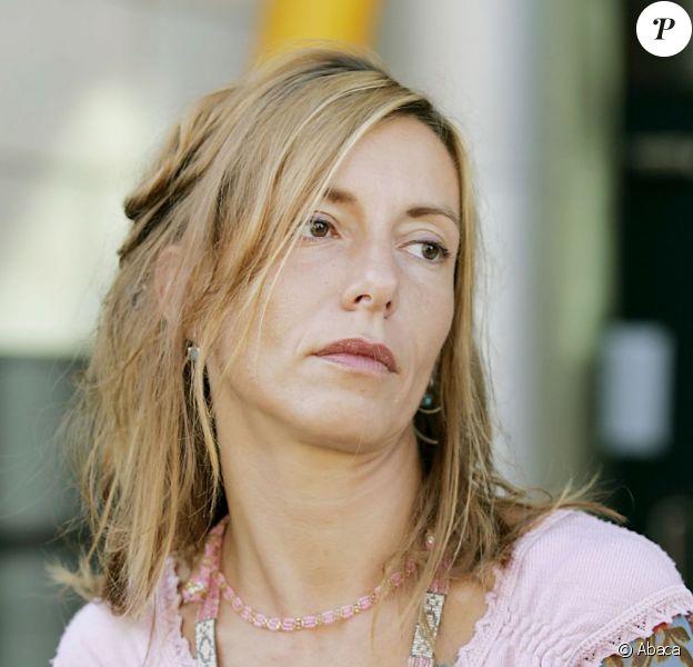 Kristina Rady devant le tribunal de Bordeaux le 31 août 2004.