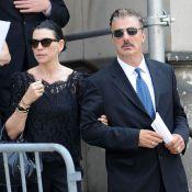 Obsèques de James Gandolfini : Julianna Margulies et Alec Baldwin très émus
