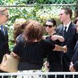 Dernier hommage aux obsèques de James Gandolfini, ce 27 juin 2013.