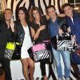 lors de la présentation du sac de Laury Thilleman pour la marque La Halle à Paris, le 27 juin 2013