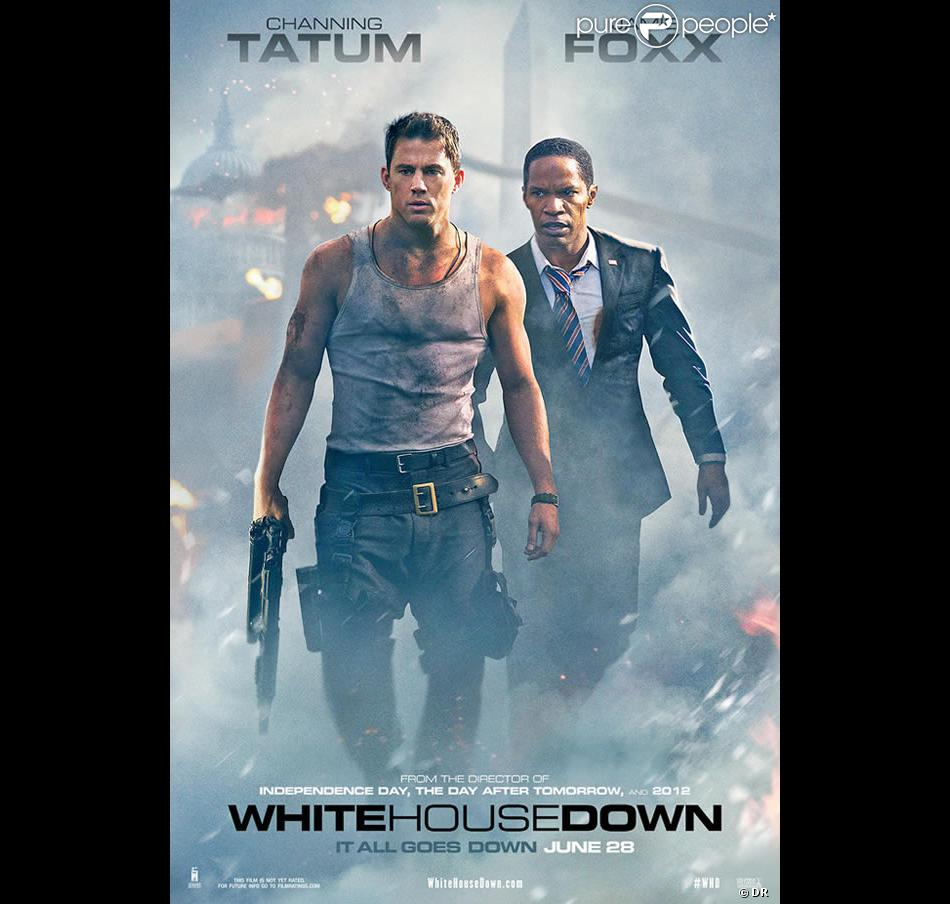 L'affiche du film White House Down