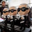 Inauguration du concept store Karl Lagerfeld à Berlin, le 2 juillet 2013.