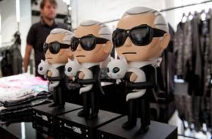 Karl Lagerfeld, héros de dessin animé : Barbara Becker est sous le charme