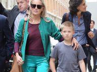 Sharon Stone à Paris avec son fils : Un look chic mais un pull très transparent