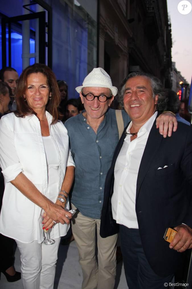 Jean francois derec sam rone et sa femme la soir e de lancement de la collection sam rone - Jean francois balmer et sa femme ...