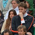 Pau Gasol et sa fiancée à Roland-Garros, le 9 juin 2013.