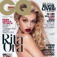 """Rita Ora photographiée par Mariano Vivanco pour le numéro d'août 2013 du magazine anglais """"GQ""""."""