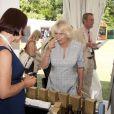 Camilla Parker Bowles au Coronation Festival le 11 juillet 2013.