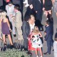 Mariage de Jimmy Kimmel et Molly McNearney à Ojai, le 13 juillet 2013. Ici on peut voir Howard Stern.