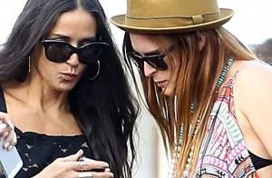 Demi Moore : Maman complice au côté de sa fille Rumer, chanteuse et showgirl