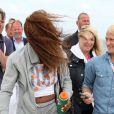 Serena Williams prend l'air marin du côté de Bastad le 14 juillet 2013