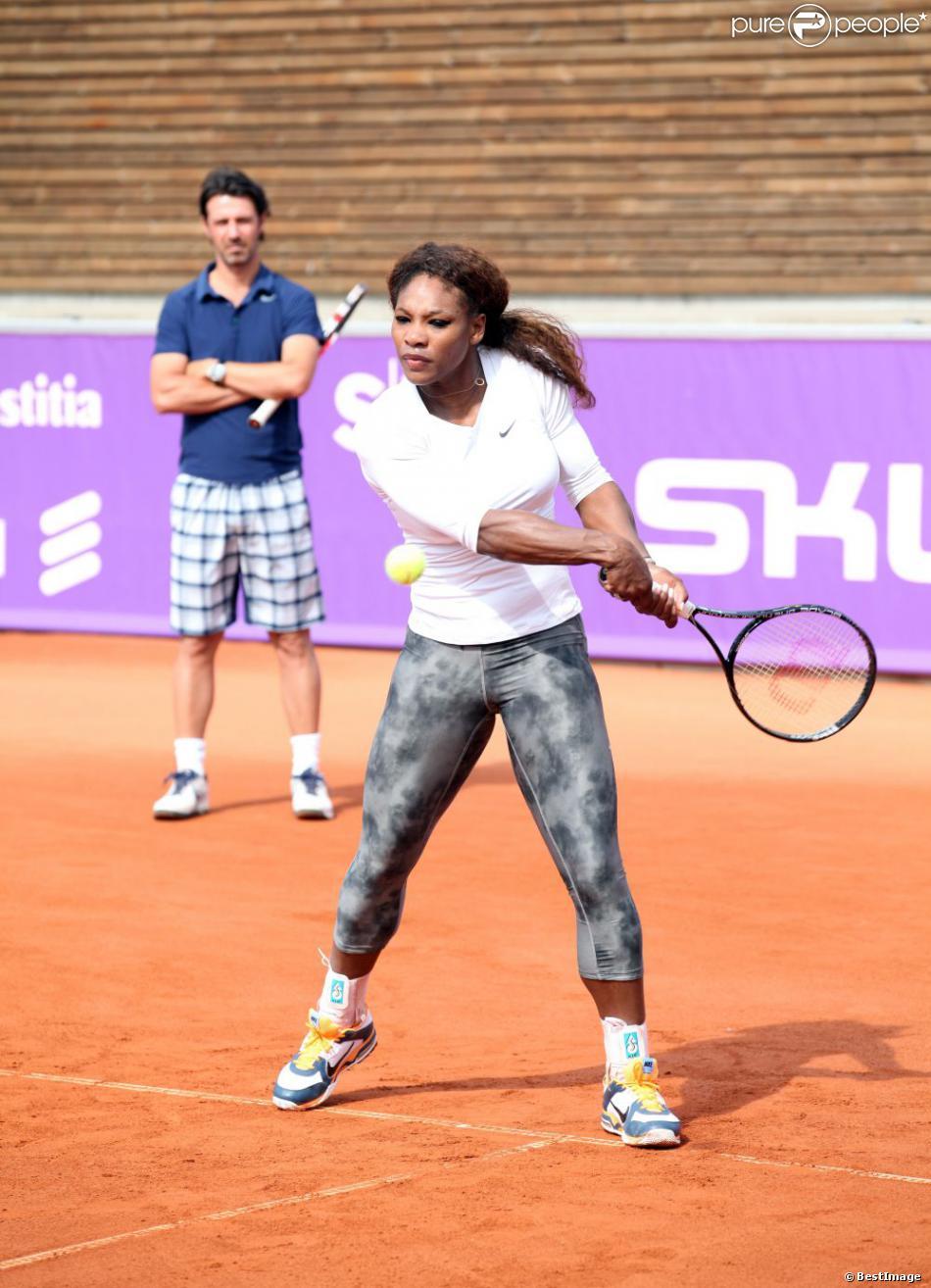 Serena Williams And Patrick Mouratoglou 1183748-serena-williams-    Venus Williams And Enrico