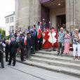 Obsèques d'André Verchuren à Chantilly le 17 juillet 2013.