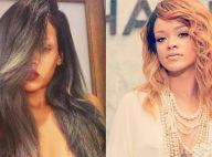 Rihanna dévoile son nouveau look et troque son blond contre... du gris !