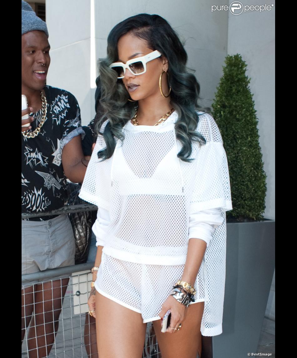Rihanna en juillet 2013 à Londres